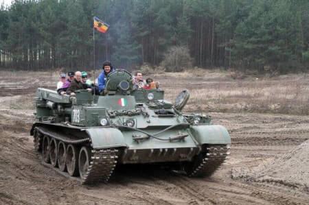 Panzer fahren für meinen JGA in Berlin | Junggesellenabschied