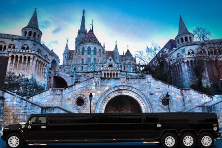 XXL Stretch Hummer for my Budapest Hen Party | Maximise Hen Weekends