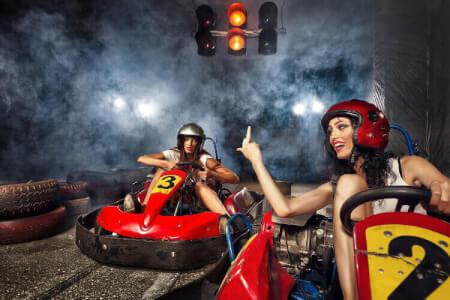 Kart fahren für meinen JGA in Riga | Junggesellenabschied