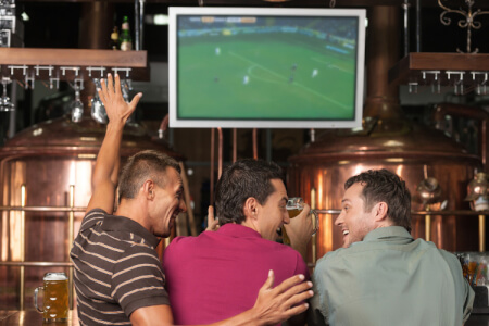Footie on the Big Screen for my Galway(Maximise) Stag Do | Maximise Stag Weekends
