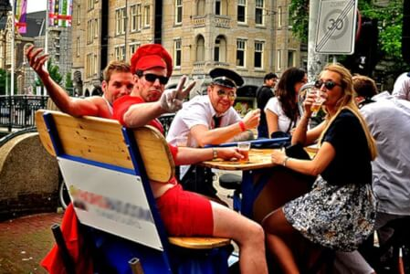 Beer Bike  for my Amsterdam Stag Do | Maximise Stag Weekends