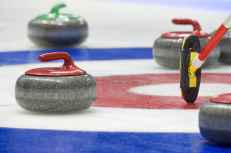 Curling stag do in Riga