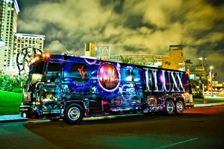 Meal & Party Bus for my Benidorm Hen Party | Maximise Hen Weekends