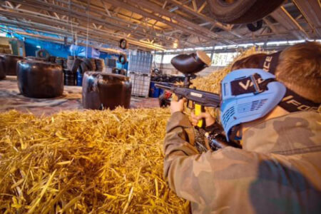 Extreme Indoor Paintball for my Liverpool Stag Do