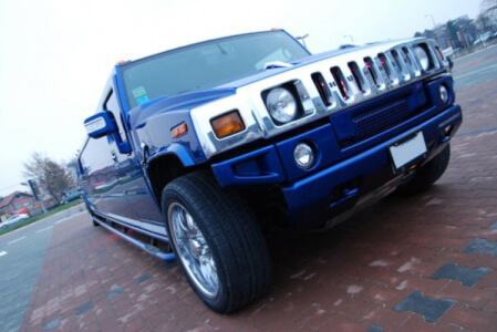 Hummer Limo Airport Transfers for my Stuttgart Hen Party | Maximise Hen Weekends