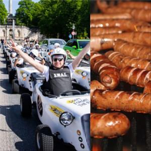 Hot Rod Bratwurst Tour für den JGA in Wien mit Crazy-JGA