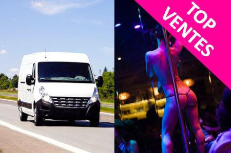 Transfert en bus + strip pour mon EVG à Prague | Enterrement de vie de garçon | idée enterrement de vie de garçon | activité enterrement de vie de garçon | idée evg | activité evg