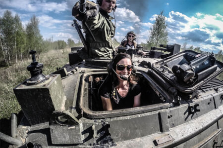 Tank Driving for my Berlin Hen Party | Maximise Hen Weekends