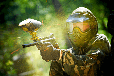 Unlimited Paintball  for my Rome Stag Do | Maximise Stag Weekends