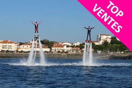 Enterrement de Vie de Garçon Biarritz Crazy EVG Flyboard