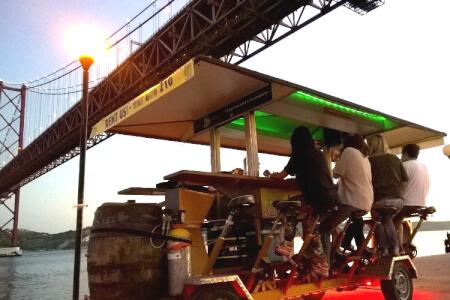Beer Bike pour mon EVG à Lisbonne | Enterrement de vie de garçon | idée enterrement de vie de garçon | activité enterrement de vie de garçon | idée evg | activité evg