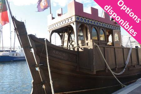 Navire Traditionnel pour mon EVJF à Lisbonne | Enterrement de vie de jeune fille | idée evjf | idée enterrement de vie de jeune fille | activité evjf |activité enterrement de vie de jeune fille