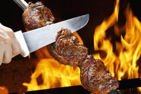 Rodizio All-You-Can-Eat Dinner for my Hamburg Stag Do | Maximise Stag Weekends