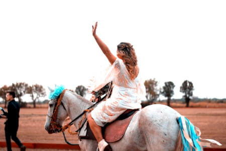 Balade à cheval à Séville avec Crazy-EVJF