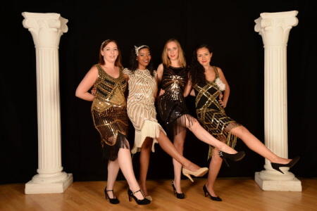 Chicago Flapper Party Manchester for your hen weekend with hen Maximise