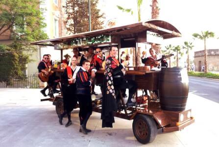 Beer Bike für meinen JGA in Barcelone | Junggesellenabschied