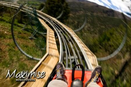 Bobsledding for my Budapest Hen Party | Maximise Hen Weekends