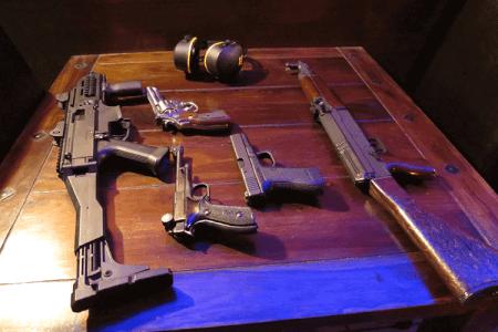 Schießen mit 4 Waffen für meinen JGA in Düsseldorf   Junggesellenabschied