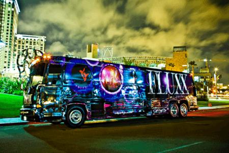 Party Bus & Club Entry Sofia stag do Maximise