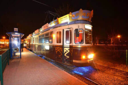 Party Tram for my Frankfurt Stag Do | Maximise Stag Weekends