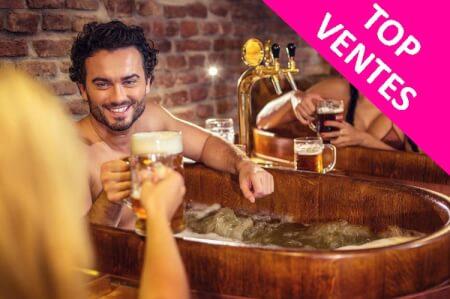 Beer Spa pour mon EVG à Prague | Enterrement de vie de garçon | idée enterrement de vie de garçon | activité enterrement de vie de garçon | idée evg | activité evg