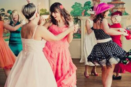 Rock & Roll Dance Class Brighton for your maximise hen party