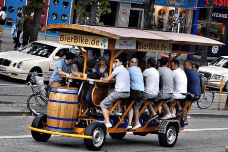 Bier Bike für meinen JGA in Riga | Junggesellenabschied