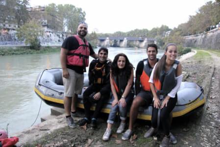 Rhein Rafting für meinen JGA in Cologne | Junggesellenabschied