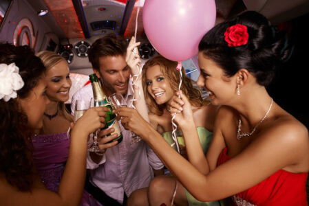 Dodge Limo + Strip hen do Brussels Maximise