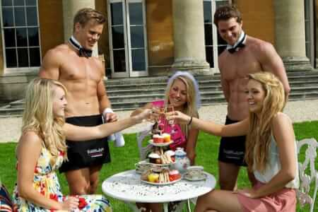 Butler In The Buff! for my Liverpool Hen Party | Maximise Hen Weekends