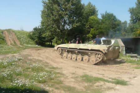 Panzer fahren für meinen JGA in Bratislava | Junggesellenabschied