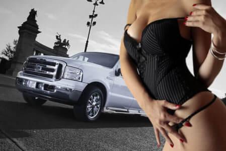 Ford Excursion + Strip für meinen JGA in Bucarest | Junggesellenabschied