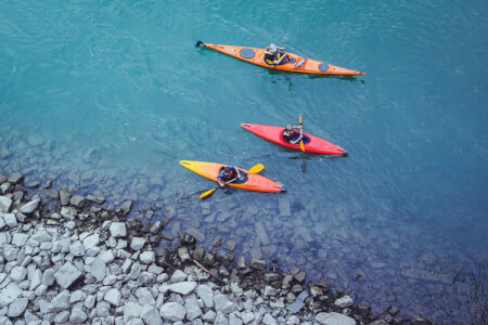 Sea Kayaking for my Split Stag Do | Maximise Stag Weekends