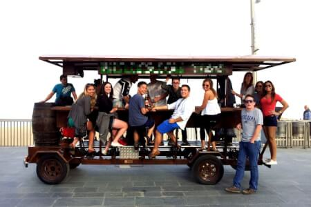 Beer Bike for my Riga Stag Do | Maximise Stag Weekends