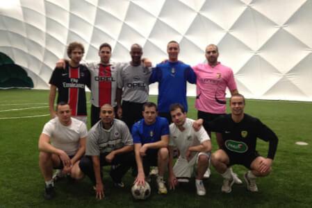 Fußball 5 gegen 5 für meinen JGA in Anvers | Junggesellenabschied
