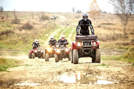 Quad Biking for my Riga Stag Do | Maximise Stag Weekends