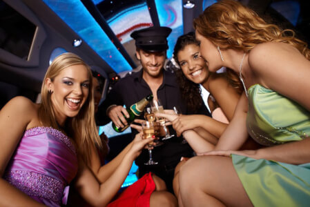 Stretch Limo,  Limo + Strip hen do in Brussels Maximise