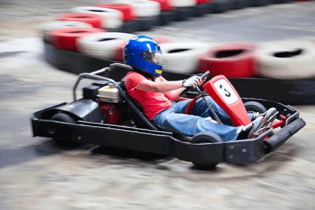 Kart fahren Outdoor für meinen JGA in Riga | Junggesellenabschied