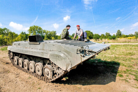 Tank Driving for my Warsaw Stag Do   Maximise Stag Weekends