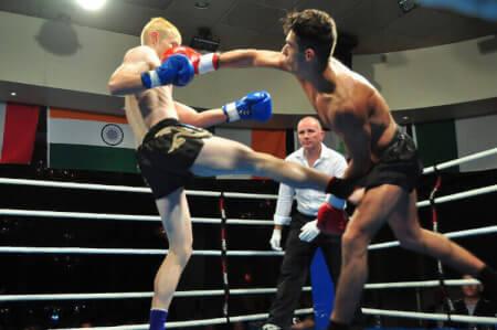 MMA Workshop für meinen JGA in Anvers | Junggesellenabschied