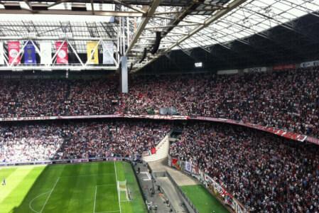 Tickets für ein Fußballspiel für meinen JGA in Amsterdam | Junggesellenabschied