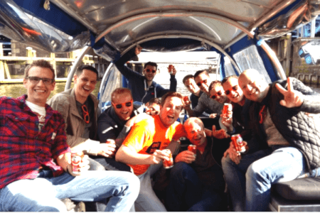 Canal Cruise with Unlimited Beer, Amsterdam Stag Do Activity