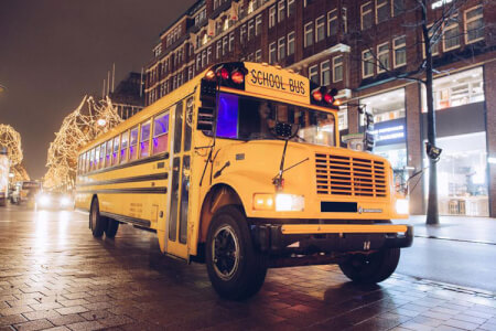 Party School Bus & Strip Airport Transfers for my Hamburg Stag Do | Maximise Stag Weekends