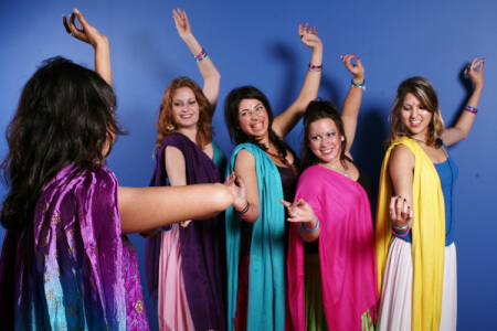 Bollywood Dance Class, Brussels Hen Weekend, Maximise