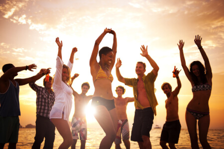 Sunset Boat Party VIP für meinen JGA in Ibiza | Junggesellenabschied
