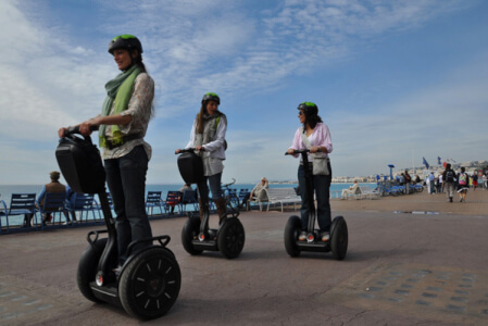Segway tour Valencia hen do Maximise