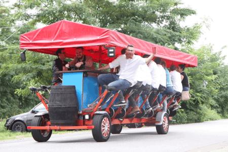 Bier Bike für meinen JGA in Düsseldorf | Junggesellenabschied