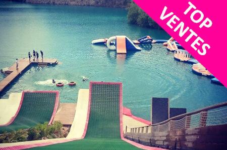 Enterrement de Vie de Jeune Fille Biarritz Crazy EVJF WaterJump