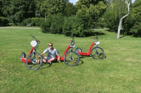 E-Scooter Tour für euren JGA mit Crazy-Junggesellinnenabschied