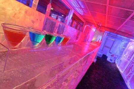 Ice Bar  für meinen JGA in Barcelone   Junggesellenabschied